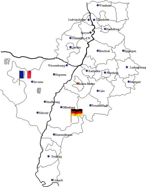 Karte Baden Württemberg Rheinland Pfalz.Wäscherei Baden Baden Buchholz Textilpflege